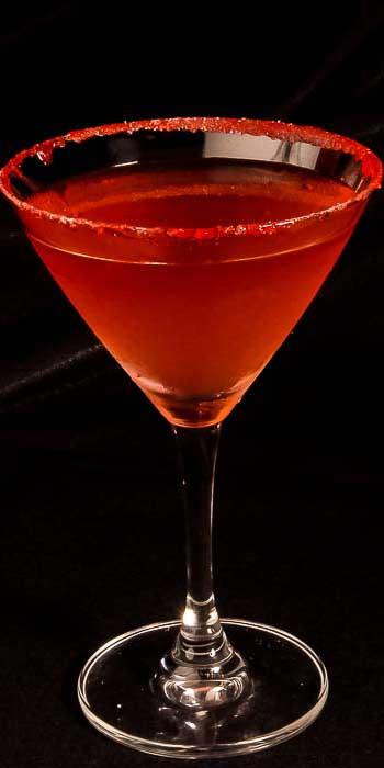 Rasperry Martini- Nonna Rosas Italian Restaurant v