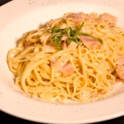 Spaghetti Carbonara- Nonna Rosas Italian Restaurant