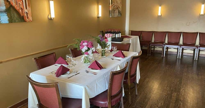 Nonna Rosa's Private Party Dining Room