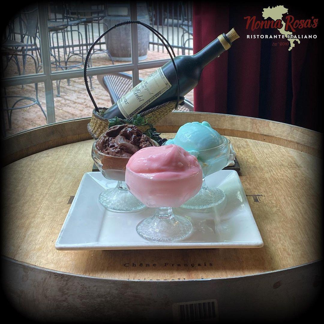 Gelato • Nonna Rossa's Italian Restaurant
