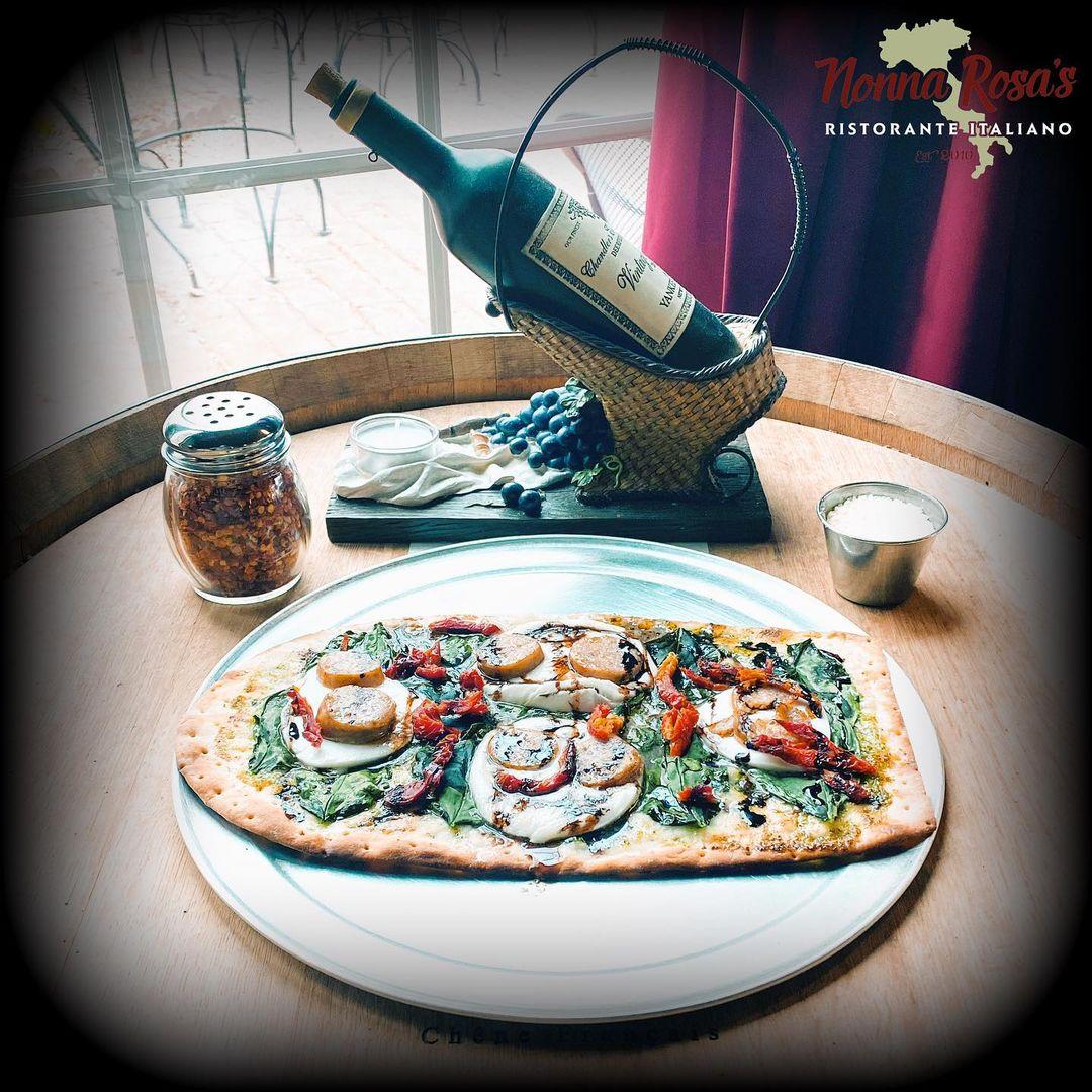 New Italian Flatbread • Nonna Rossa's Italian Restaurant